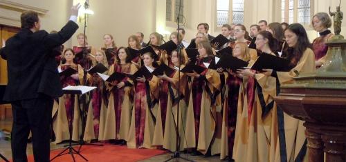 Koncert VUS UK v evang. Salvátorovi - Pocta Tvůrcům 2011