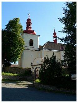 St. Lucas church, Křečovice