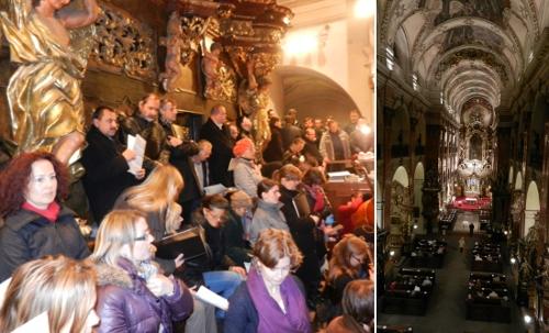 Mozart: Requiem, Bazilika sv. Jakuba