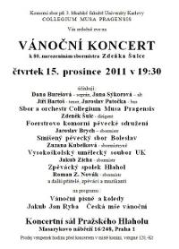 pozvánka na koncert